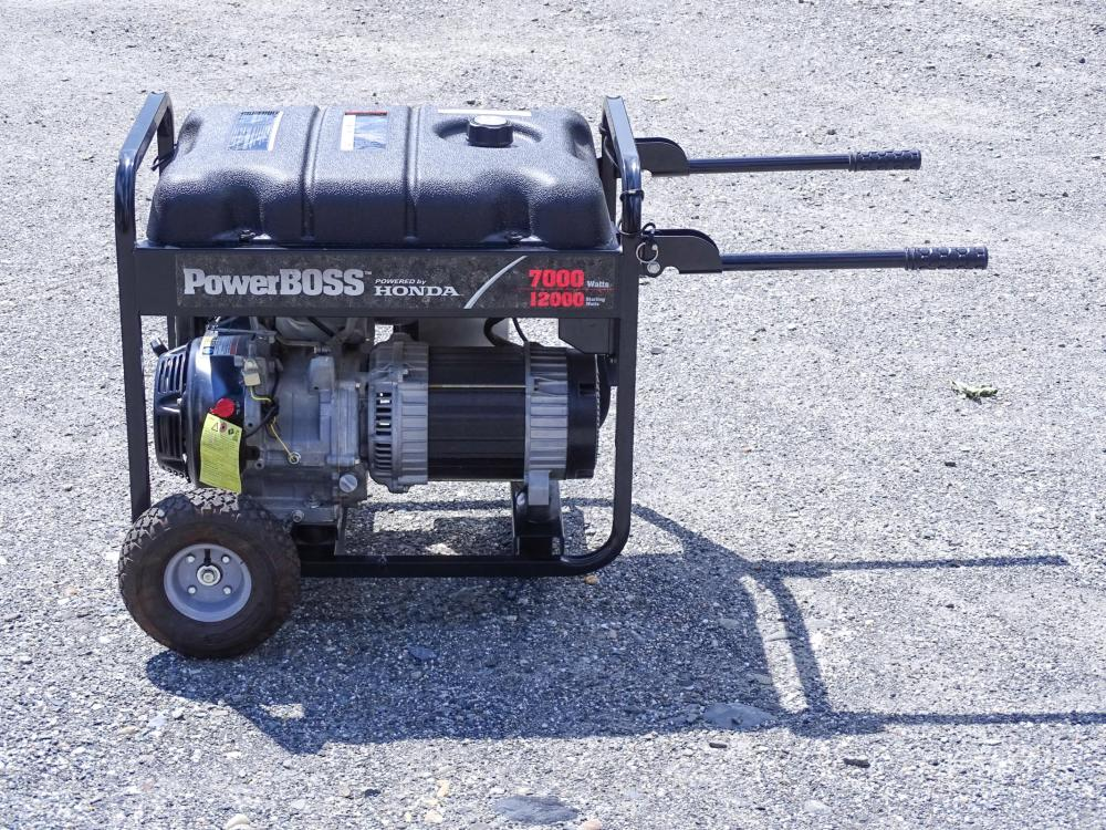 Honda Power Boss Generator