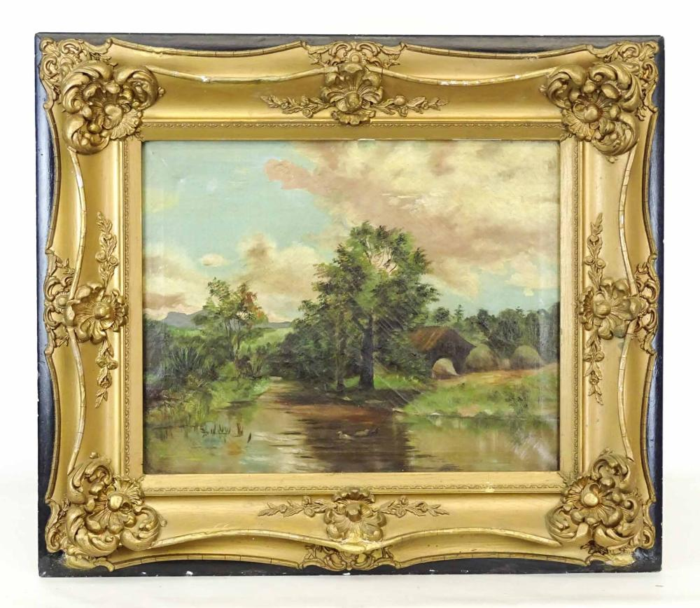 Painting, 19th c. Landscape