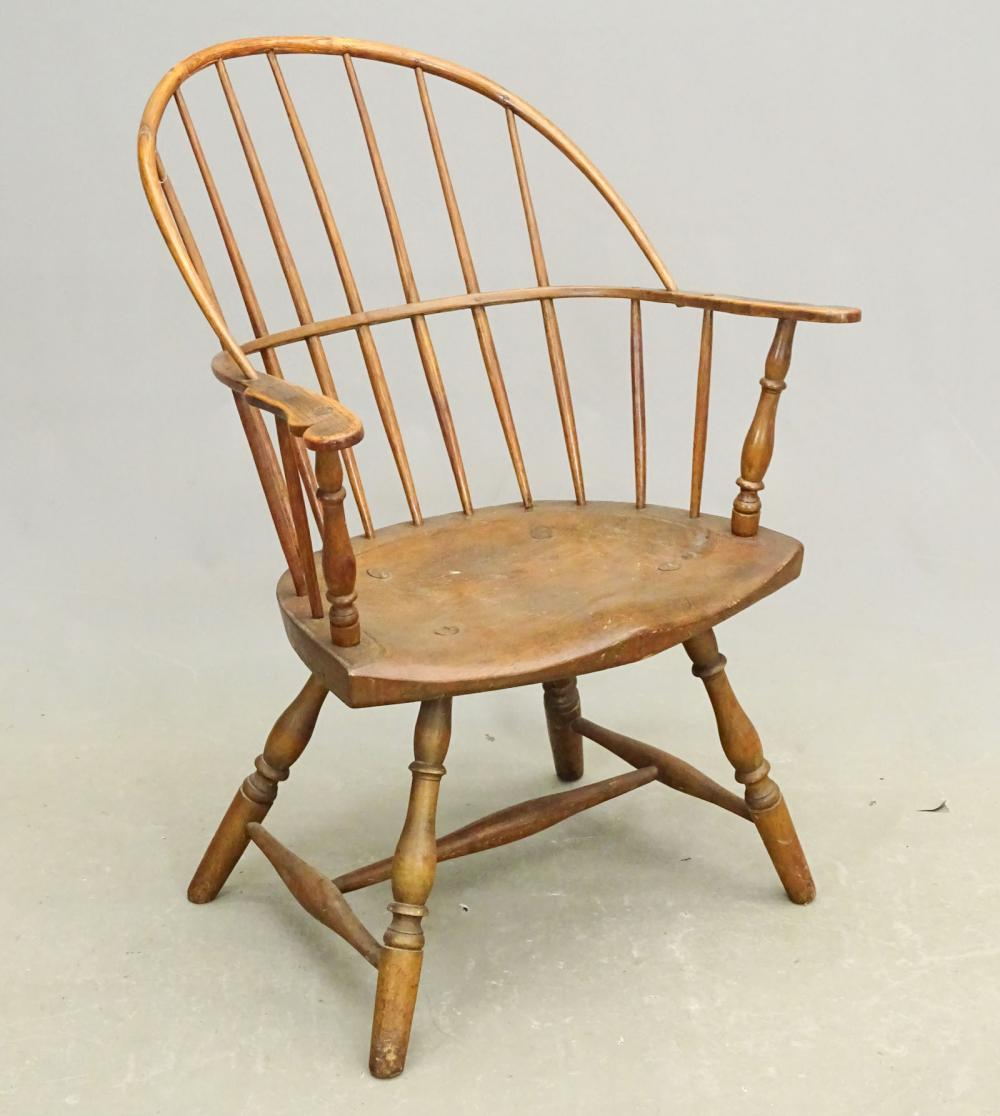 19th c. Windsor Armchair