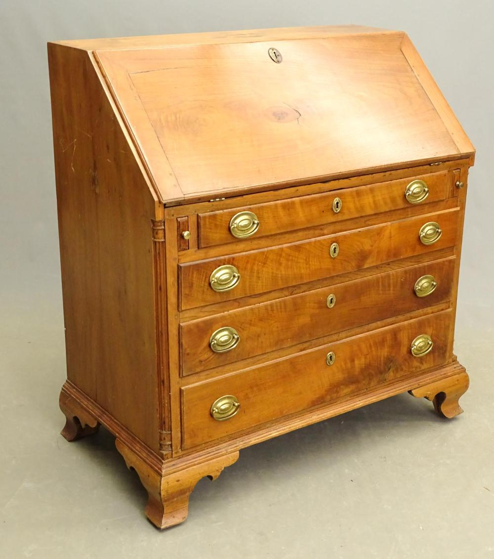 18th c. Slant Lid Desk
