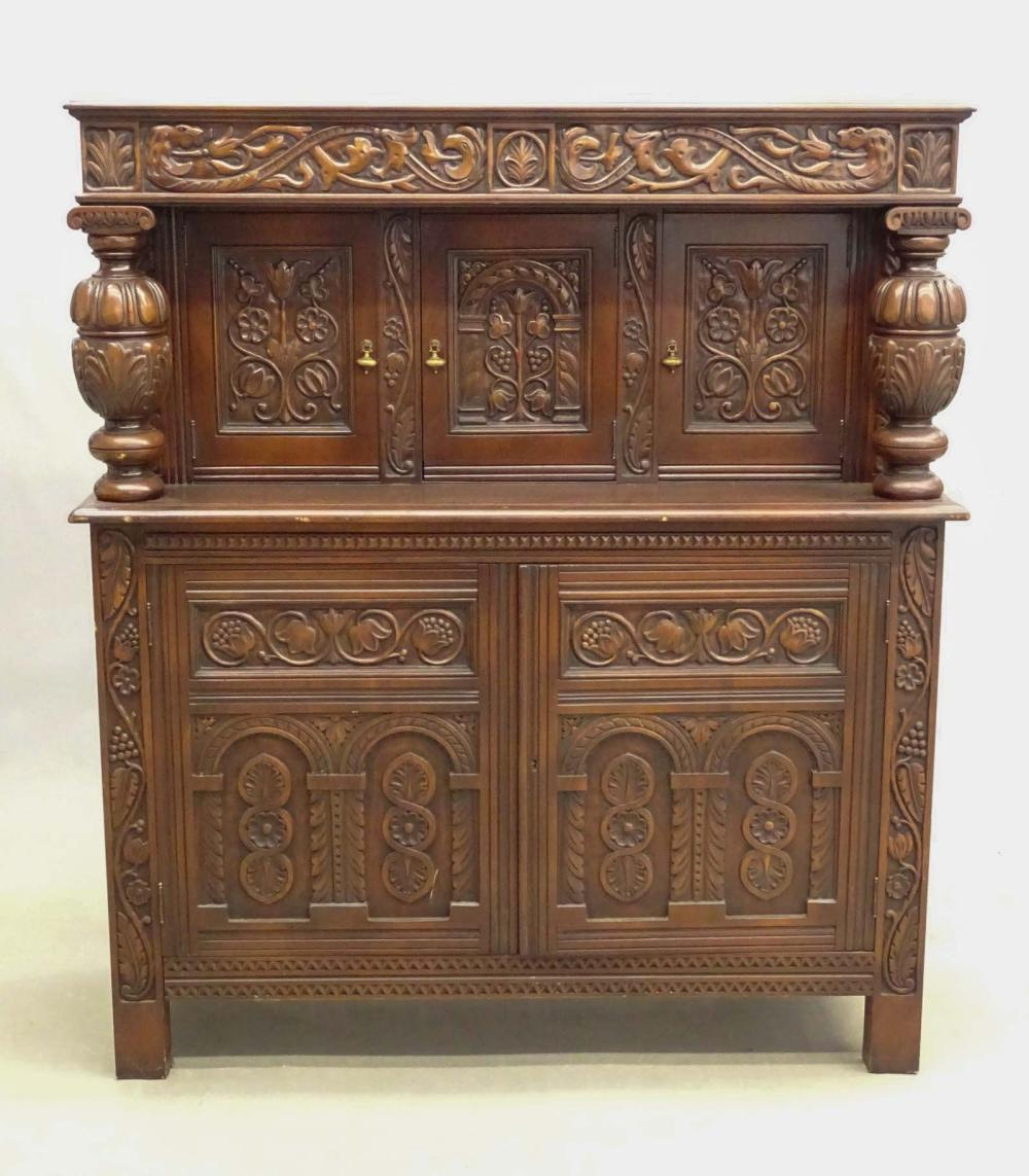 Jacobean Style Court Cupboard