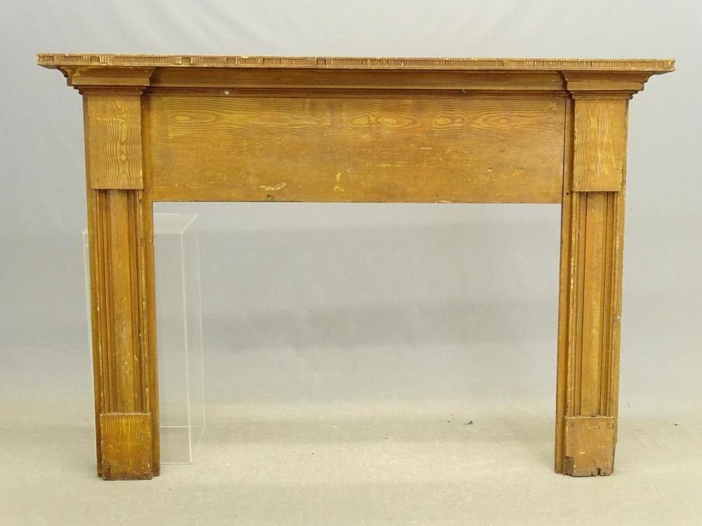 19th c. Fireplace Mantel
