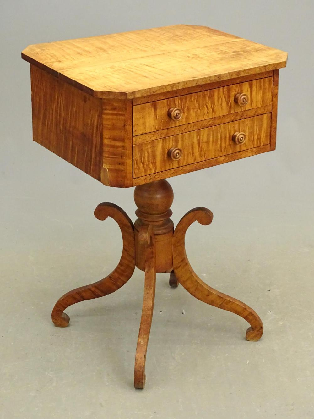 19th c. Empire Maple Stand
