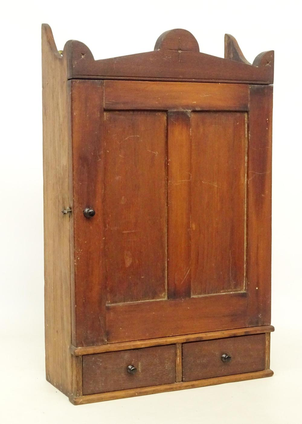 19th c. Hanging Cupboard