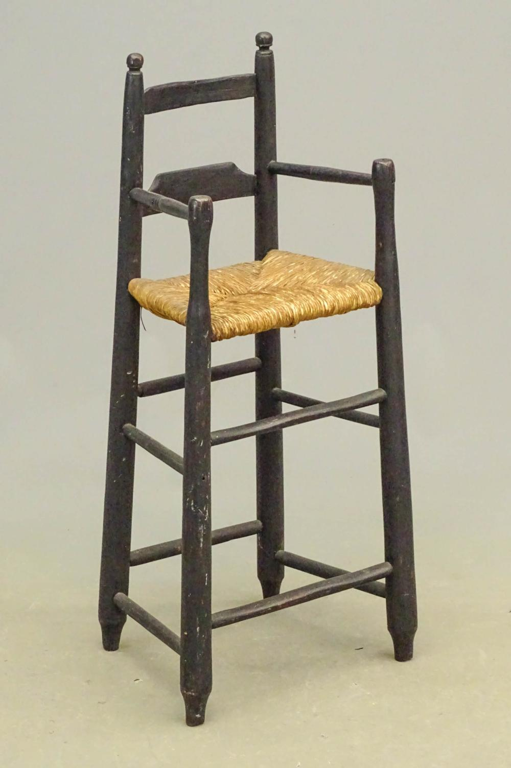 19th c. Highchair