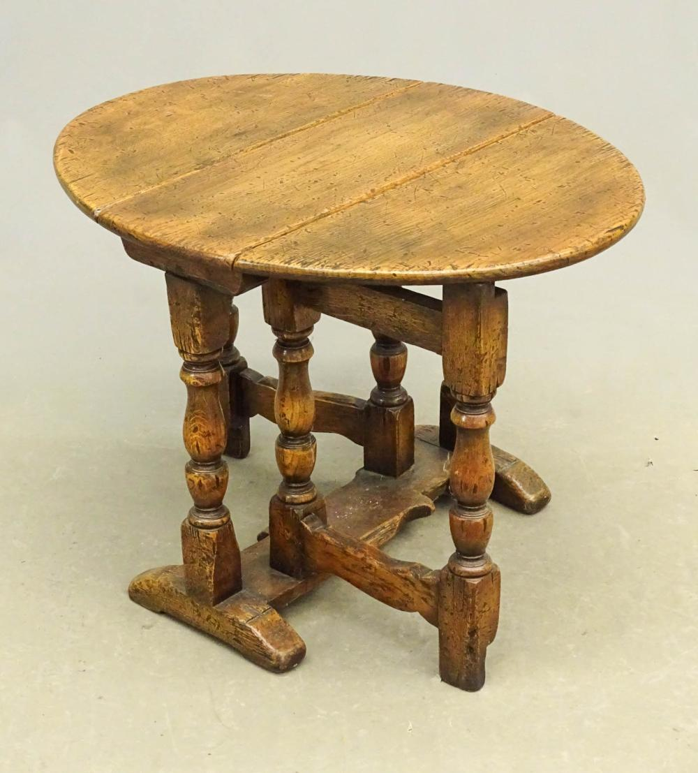 Diminutive English Dropleaf Table