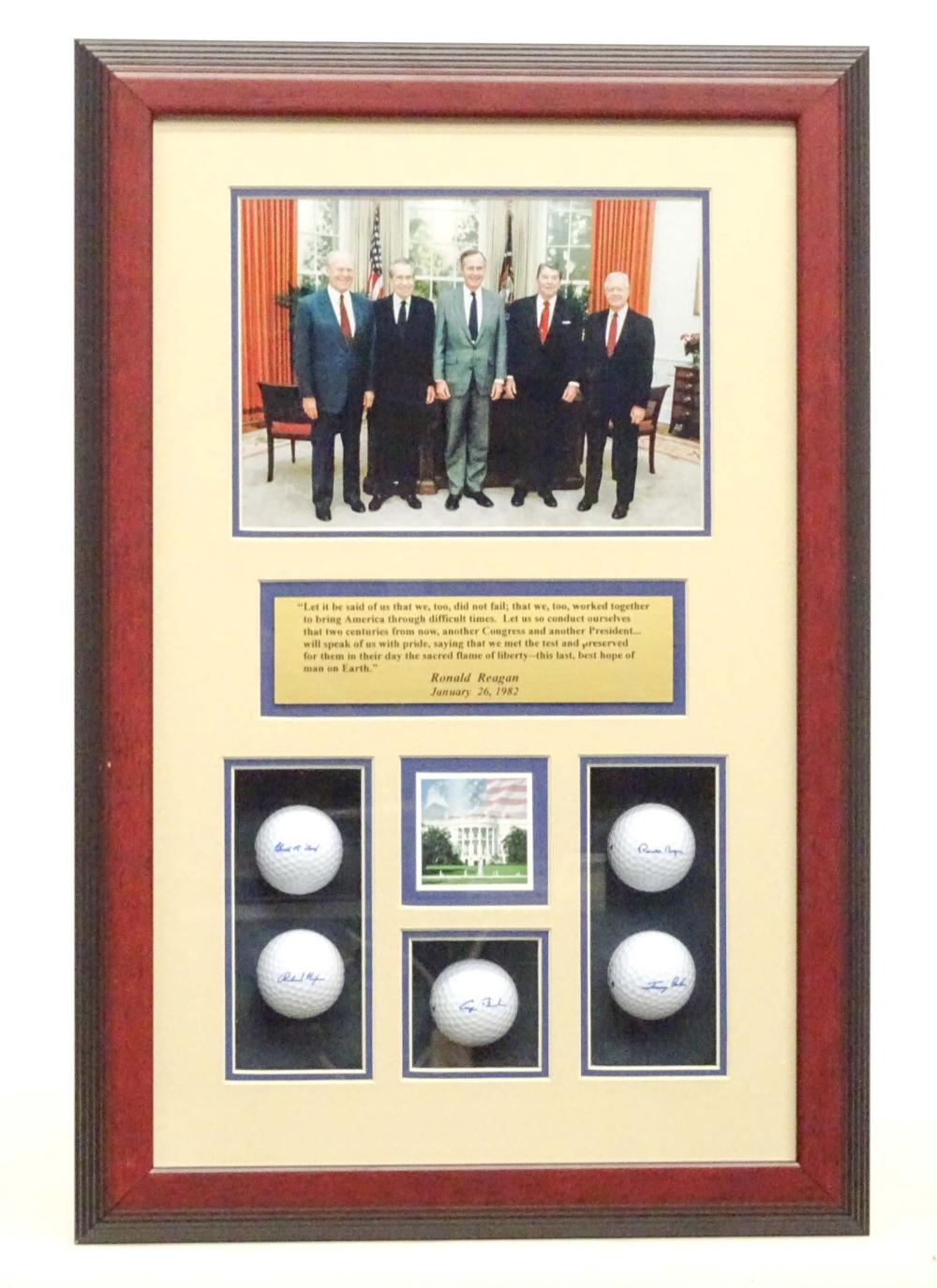 Presidential Golf Ball Presentation