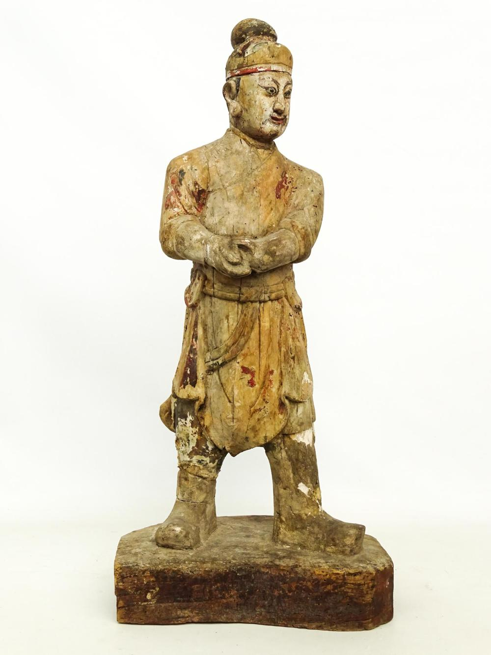 Early Ming Wooden Statue