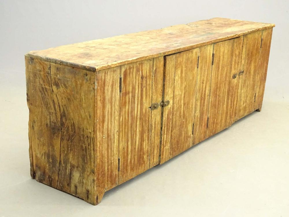 19th c. Primitive Cupboard