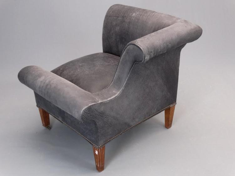 Napoleon style chaise for Chaise napoleon