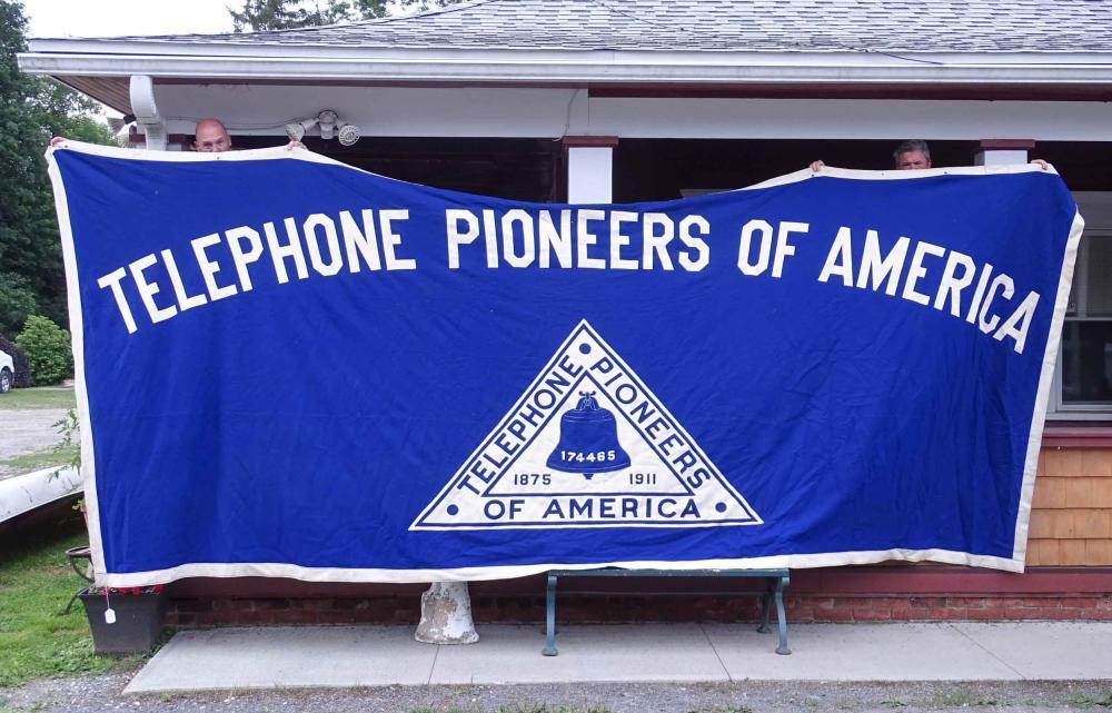 Telephone Pioneers of America Banner