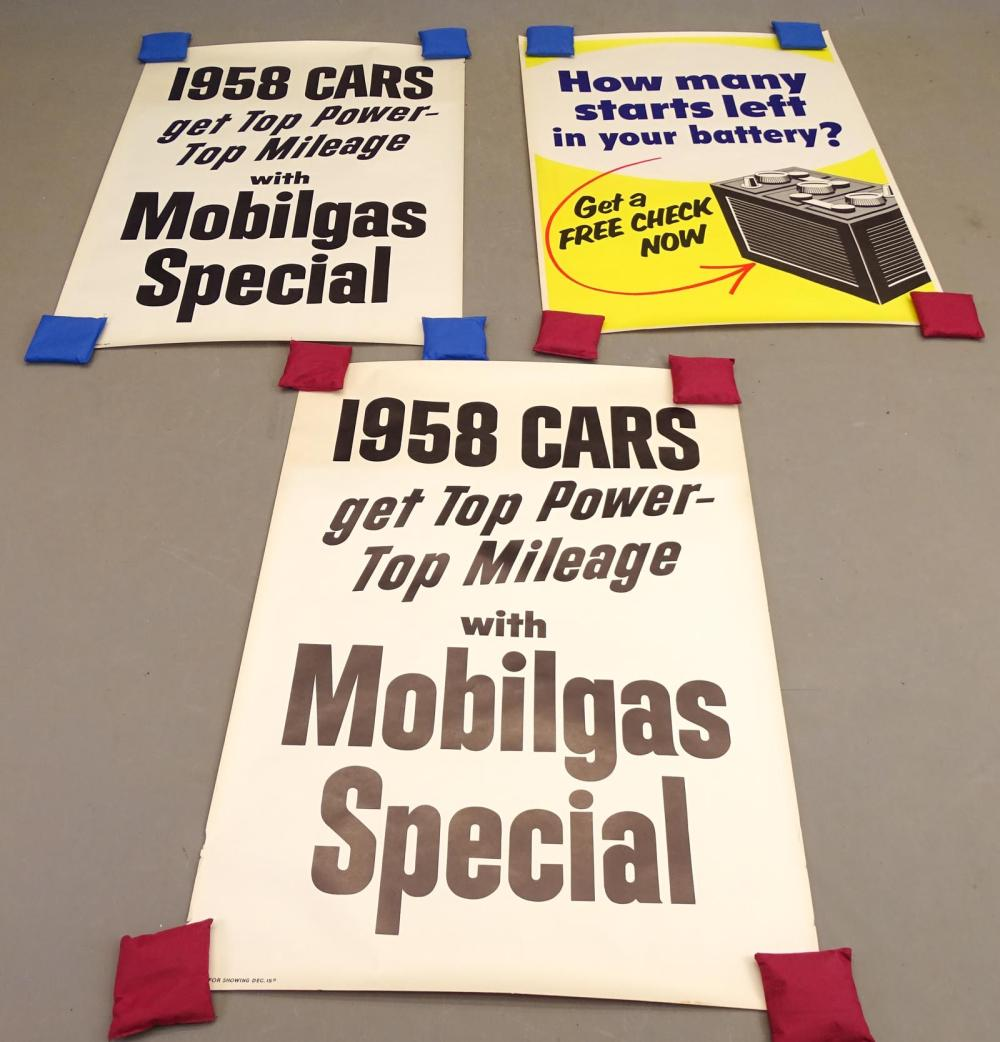 1958 Automobile Posters