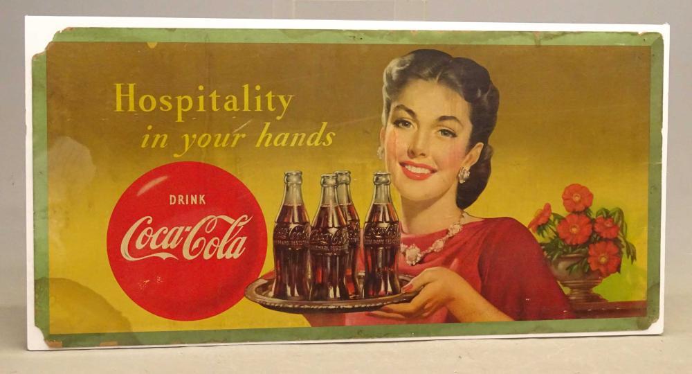 Coca Cola Display Sign