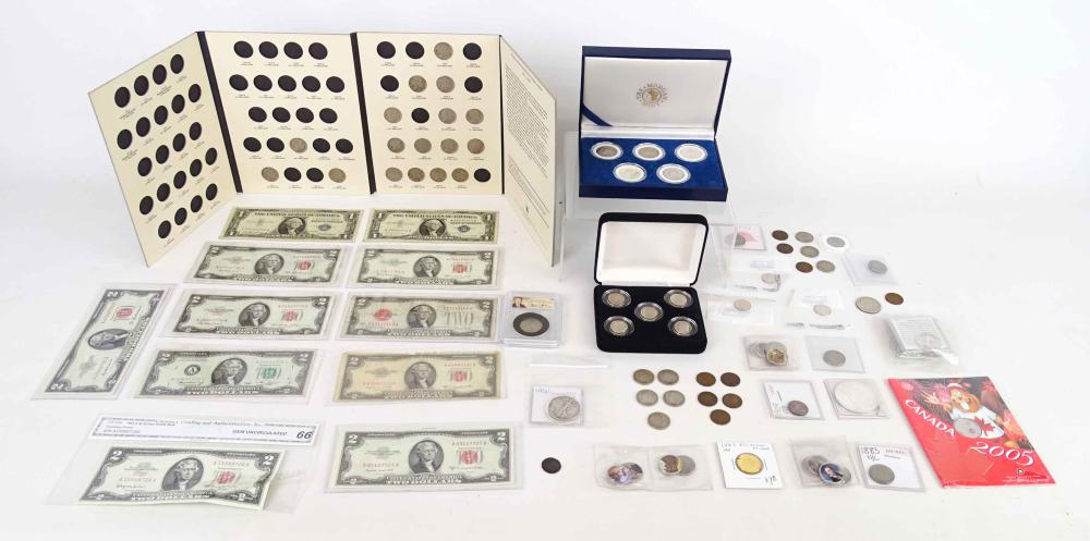 Coin & Paper Money Lot