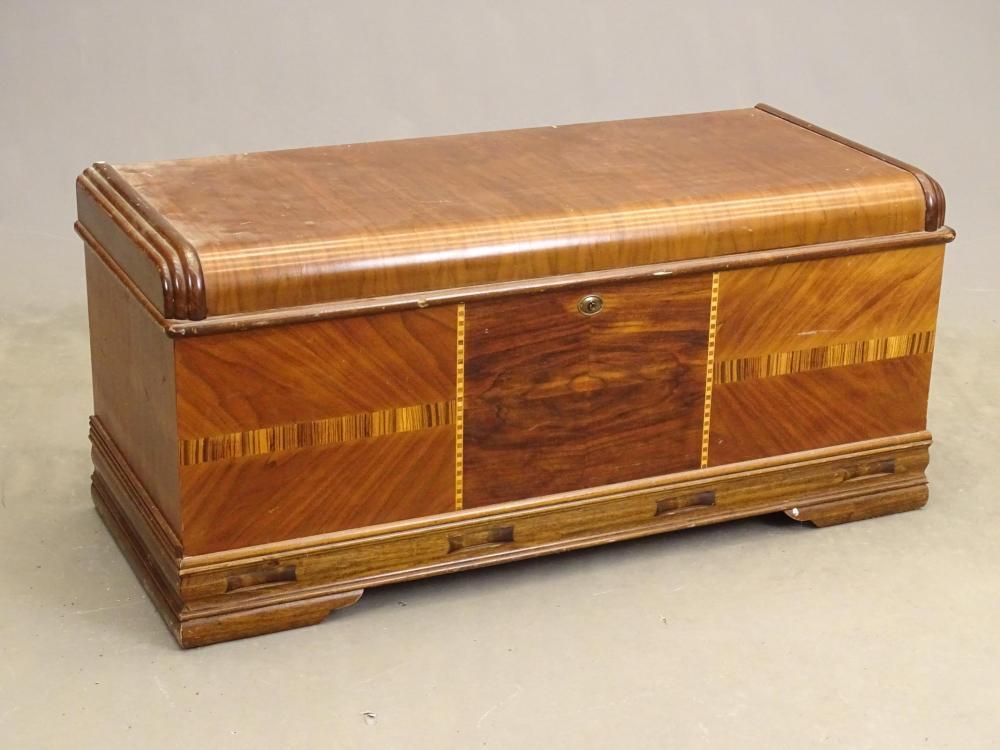 Vintage Cedar Trunk