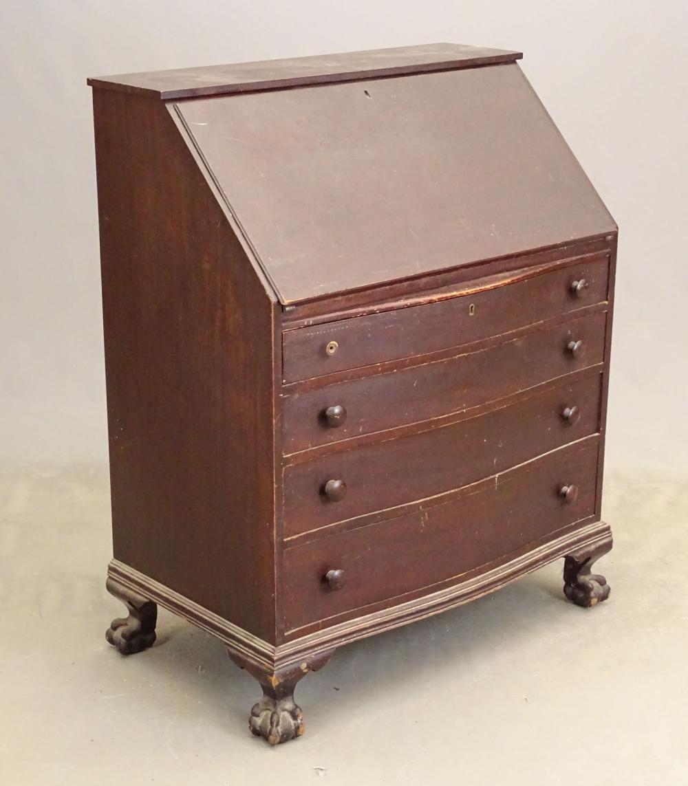 1940's Mahogany Desk