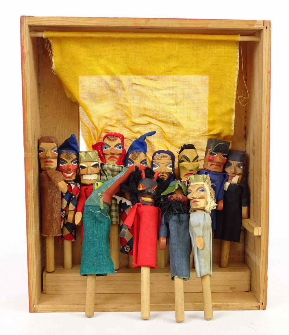 Scandinavian Puppet Lot