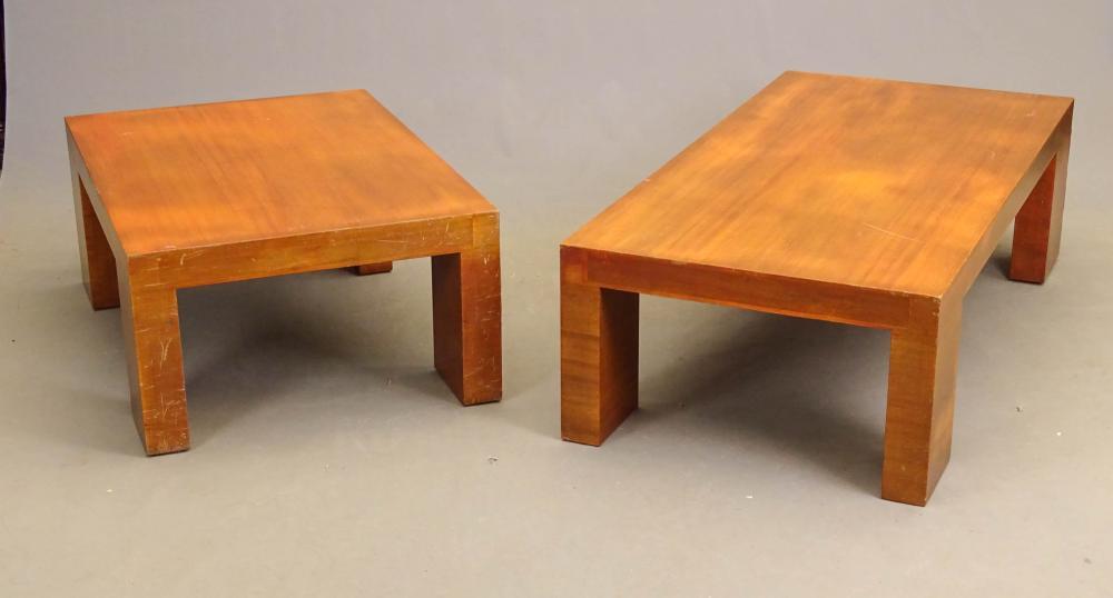 Pair Modern Design Coffee Tables