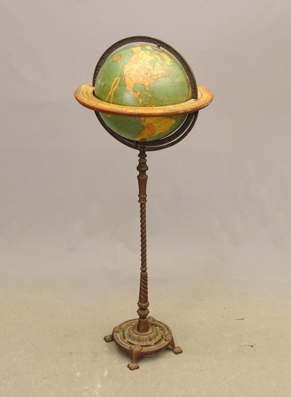 Early Globe on Stand