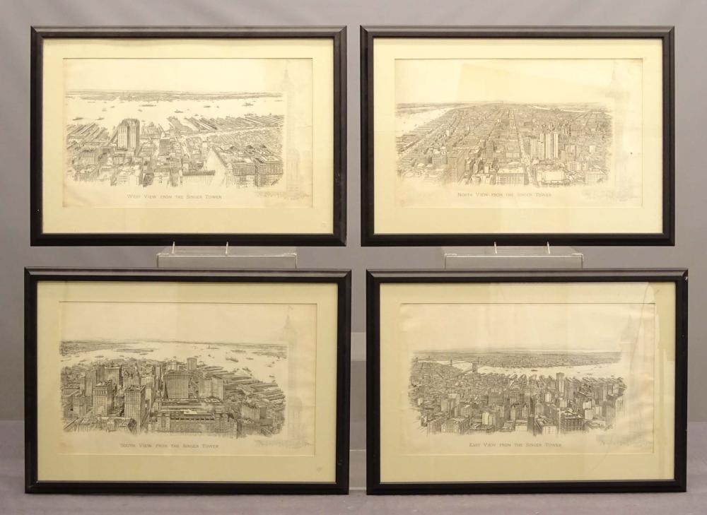 Set of New York City Framed Prints