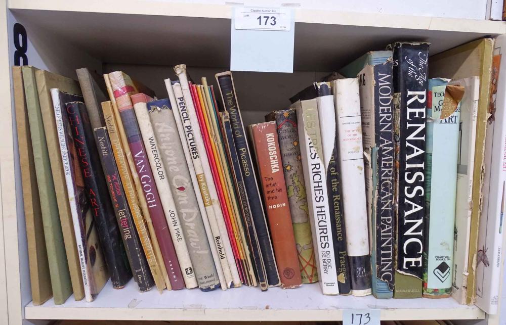 Art Books Lot