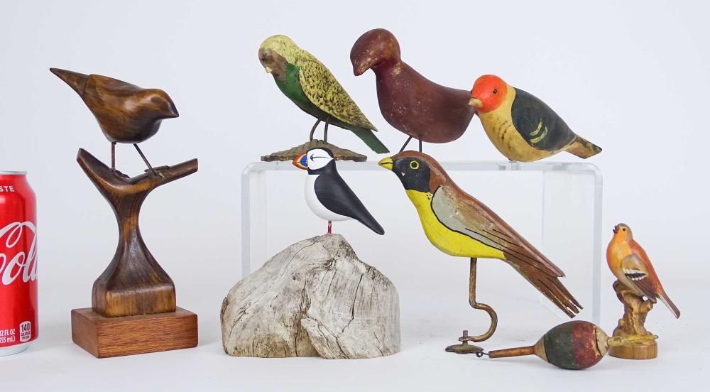 Bird Carving Lot