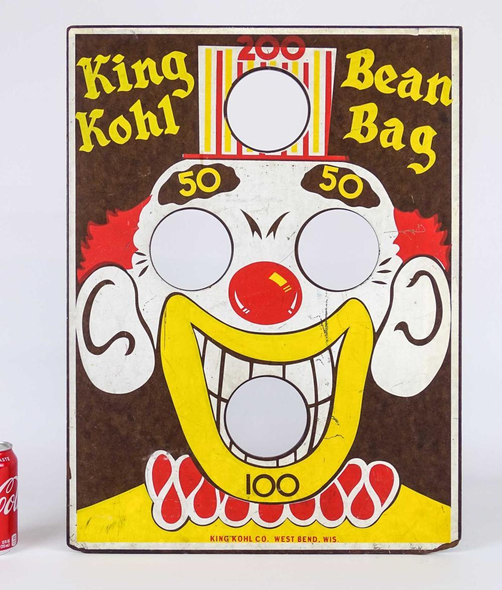 Vintage Beanbag Toss Game