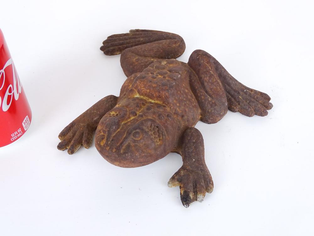 Cast Iron Frog