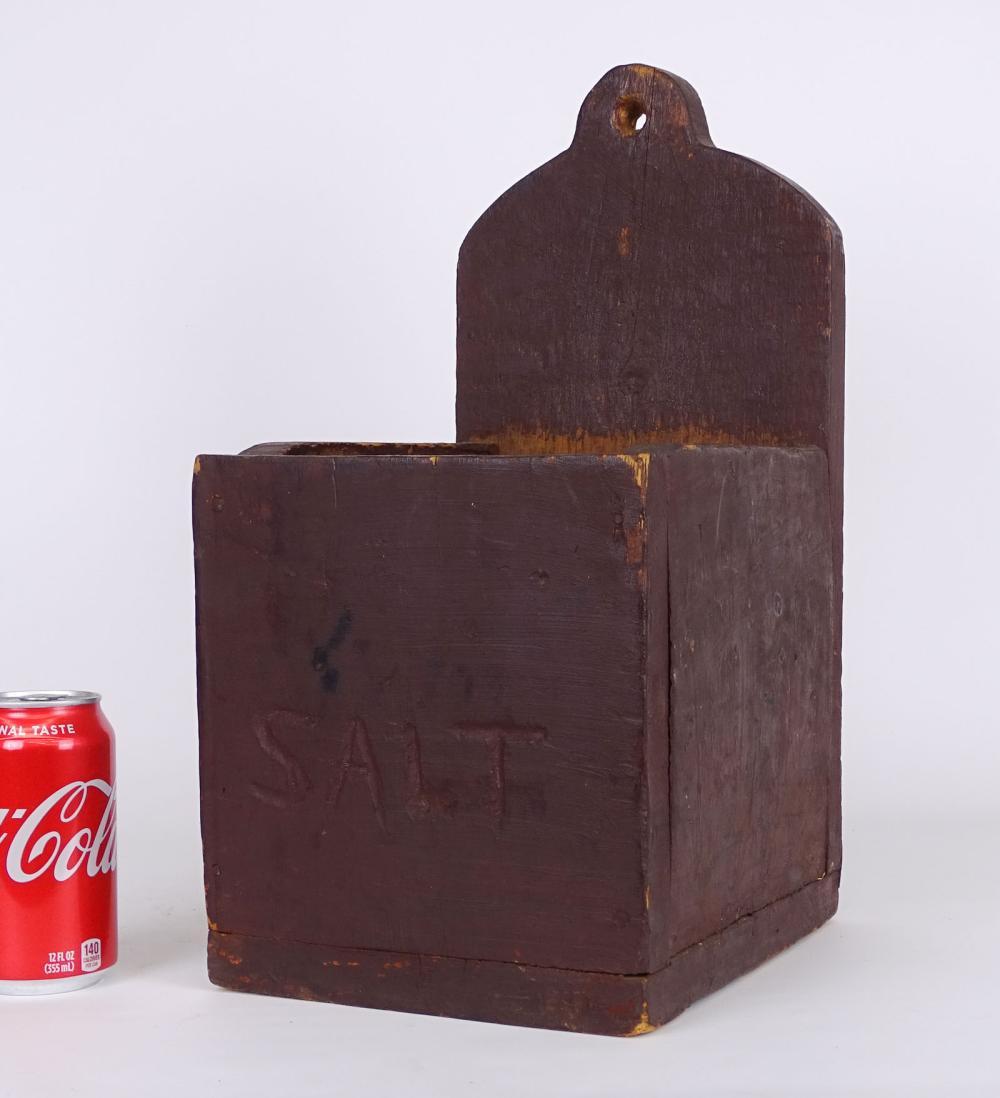 19th c. Salt Box