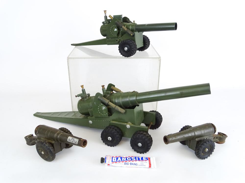 Toy Cannon Lot