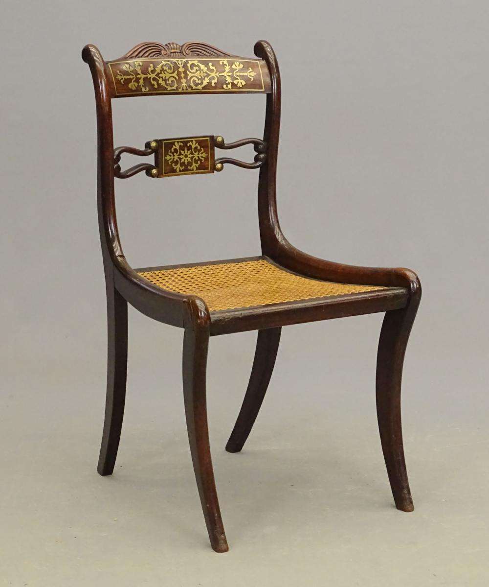 19th c. Regency Side Chair