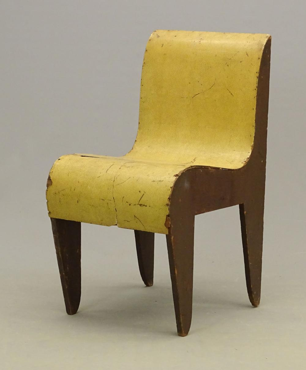 Attributed To: Marcel Breuer Prototype Chair