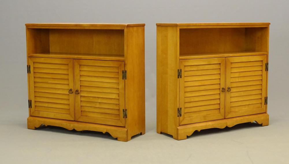 Pair Vintage Cabinets