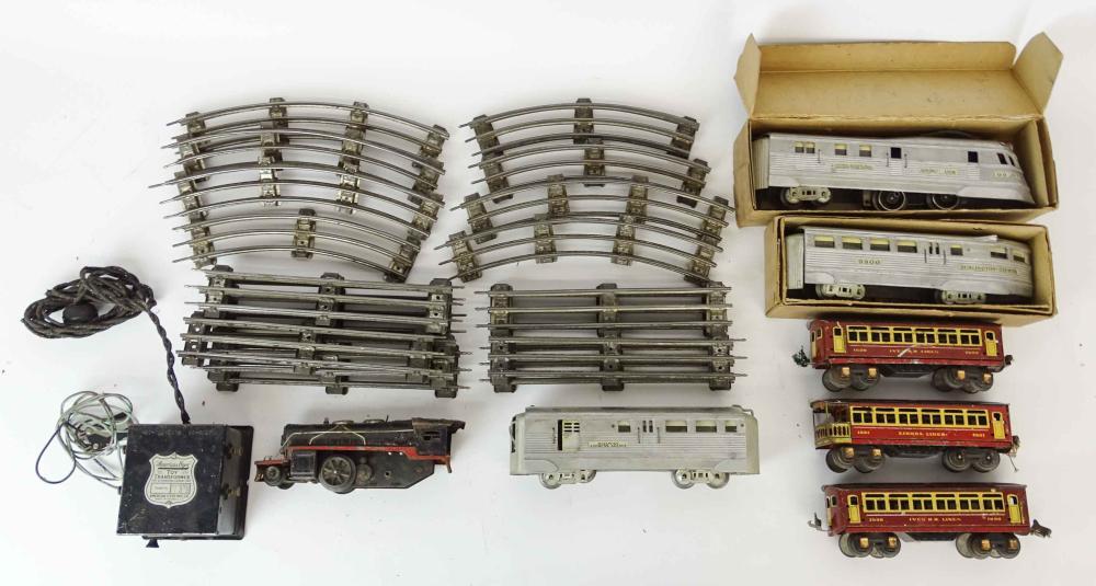 Toy Train Lot