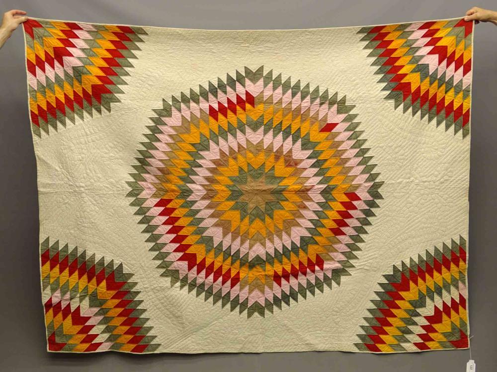 C. 1890's Star Quilt