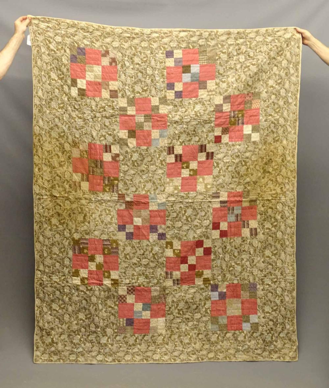 C. 1880's Patch Quilt