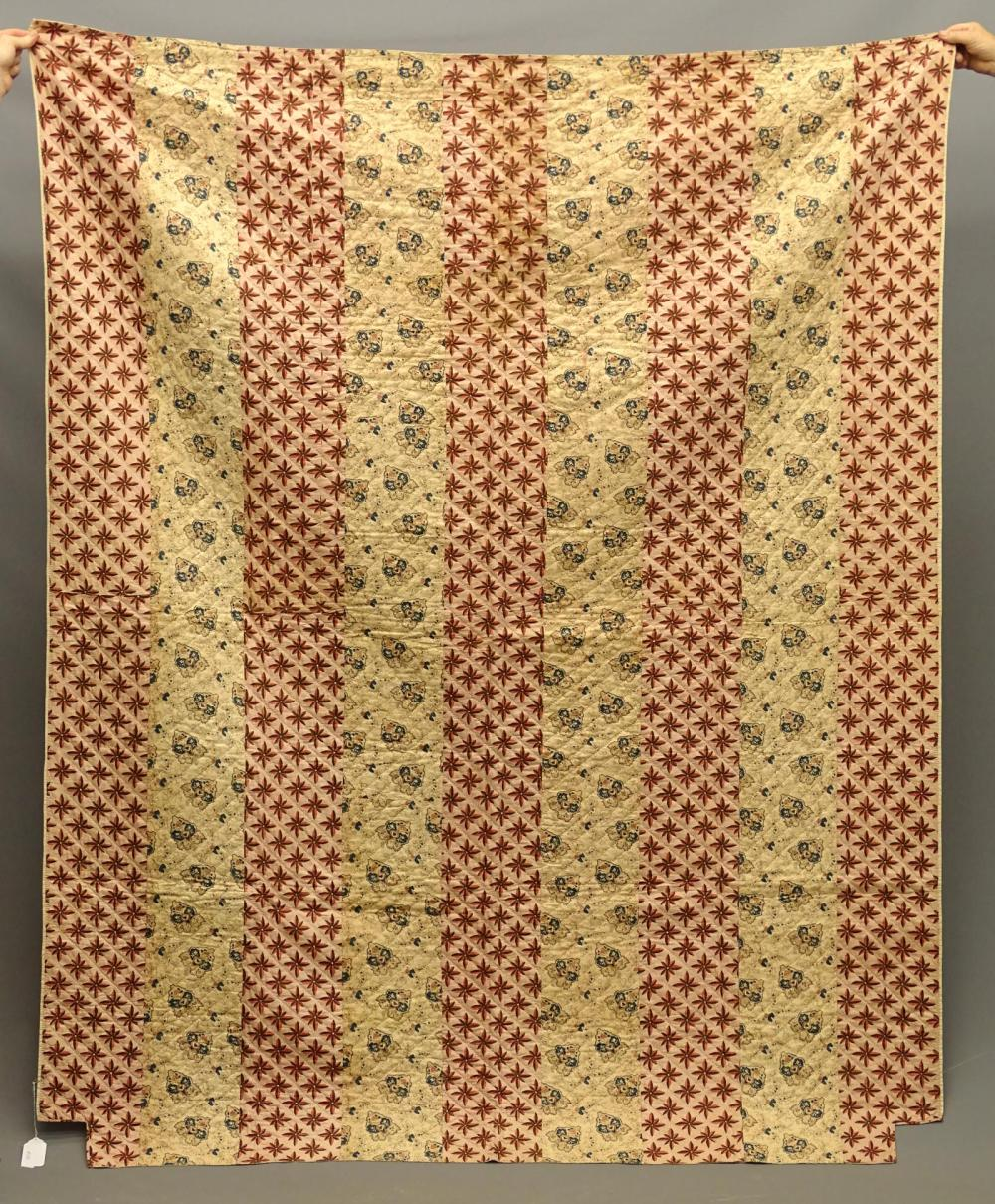 C. 1820's Strippy Quilt