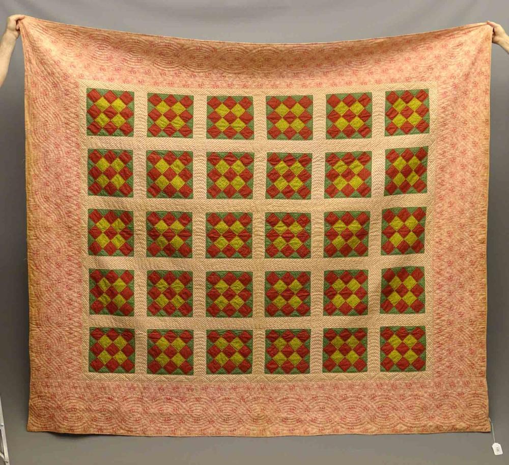 C. 1850's Patch Quilt
