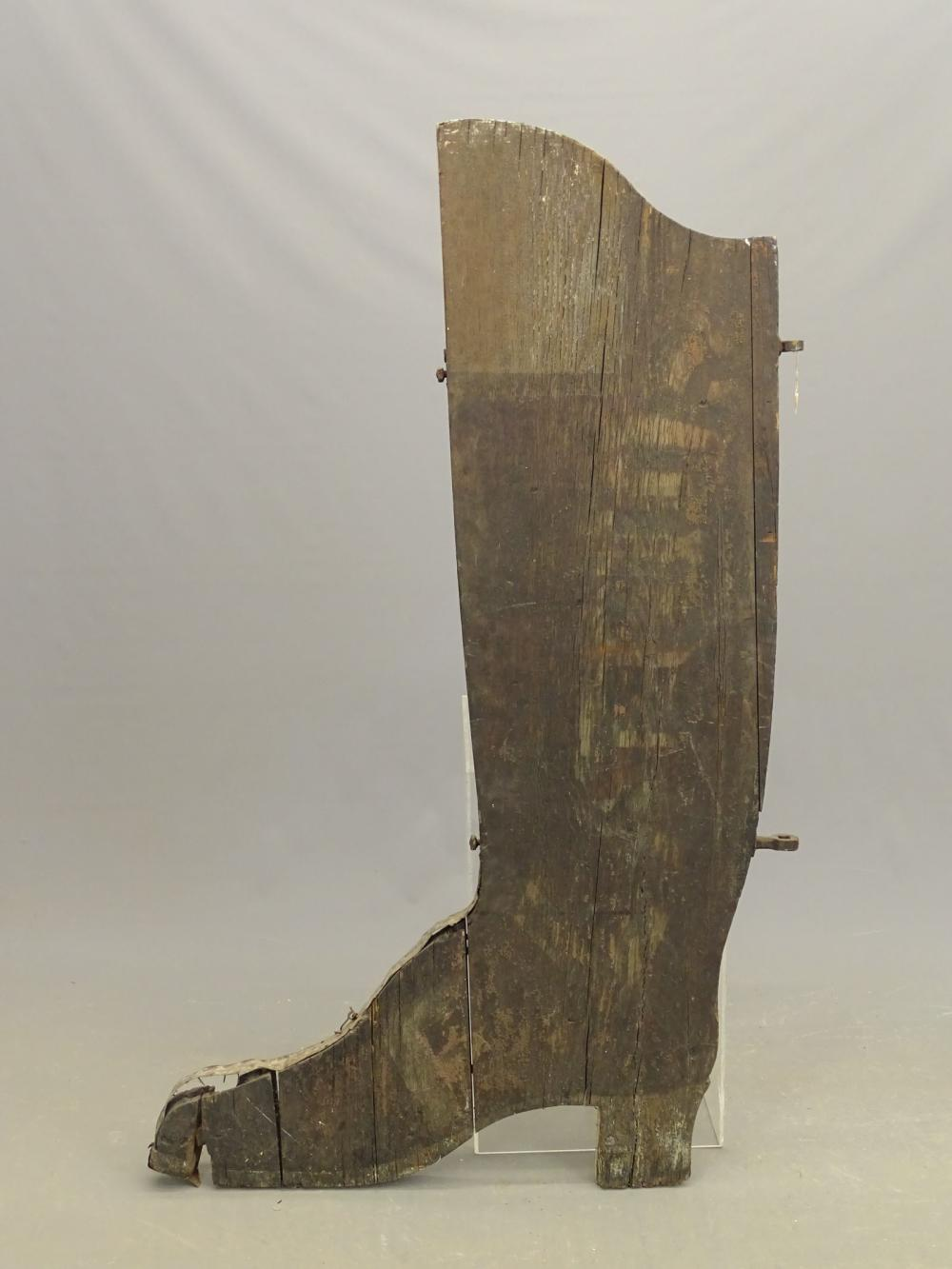 Boot Trade Sign