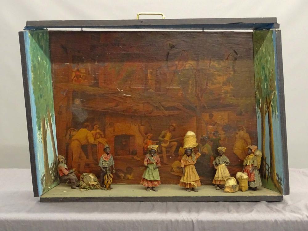 Folk Art Diorama