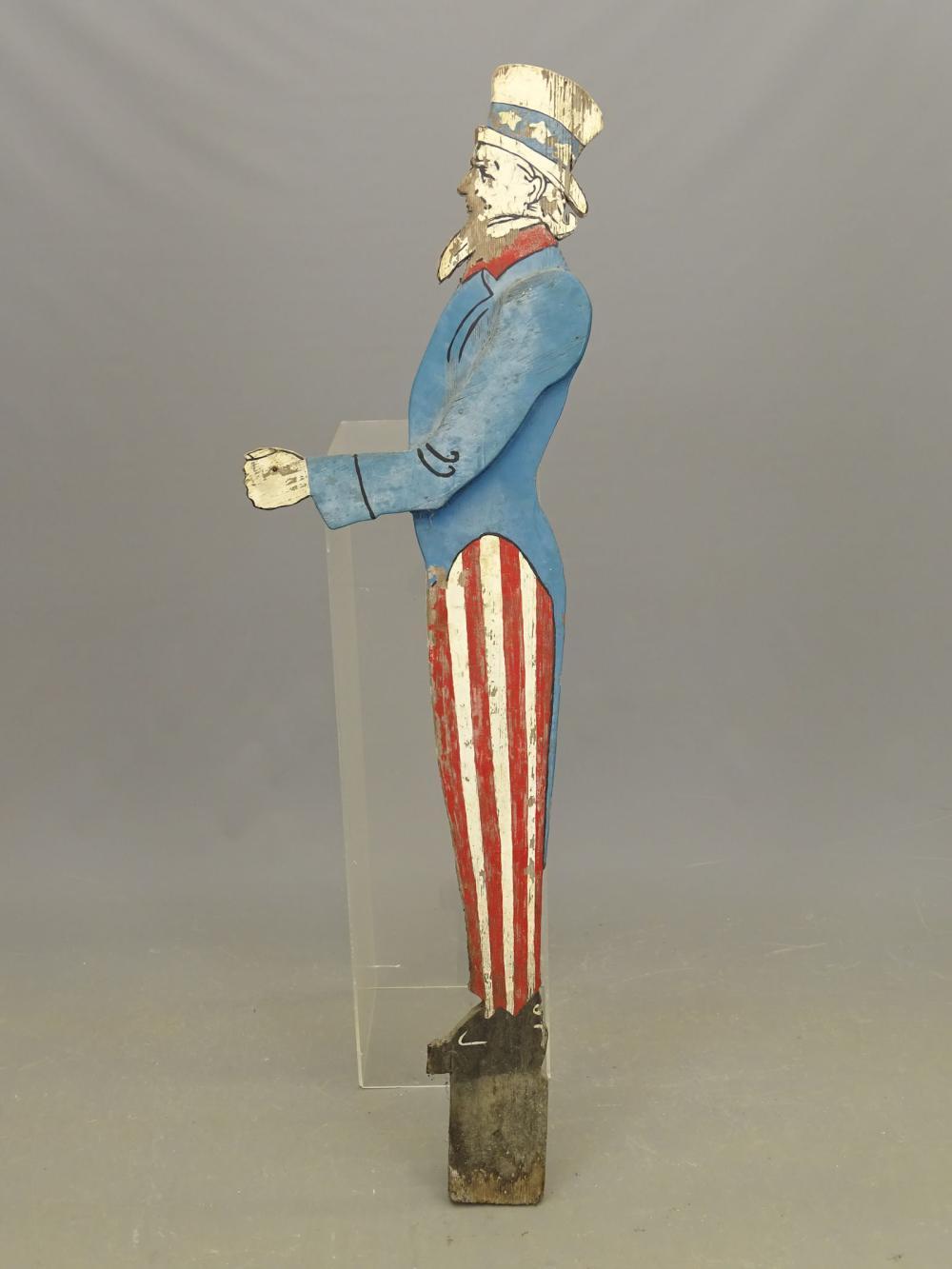 Uncle Sam Mailbox Holder