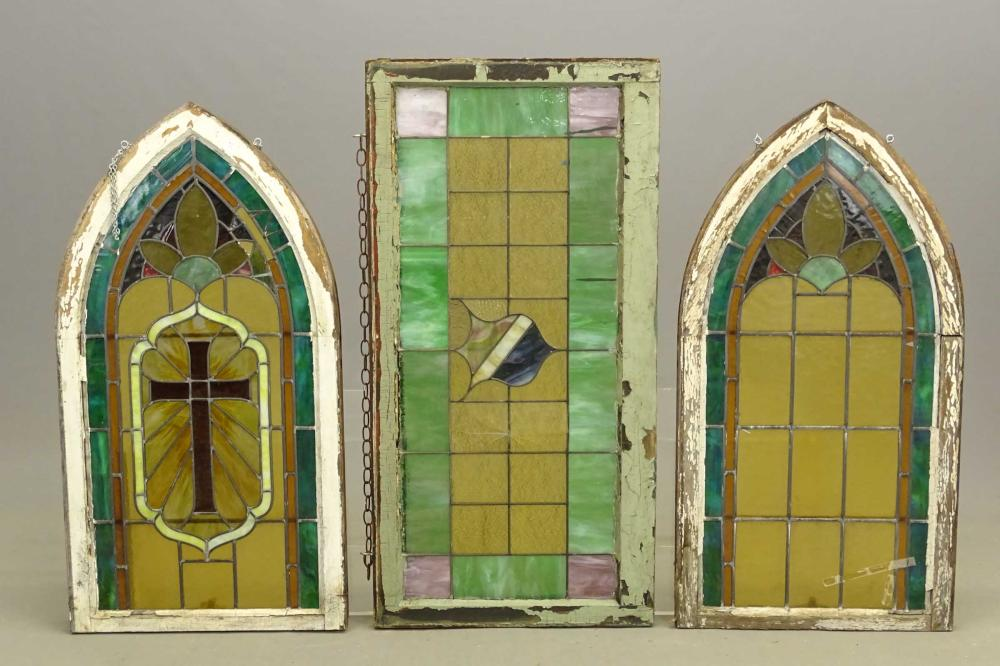 Stained Glass Window Lot