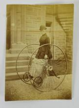 Otto Dicycle Photograph