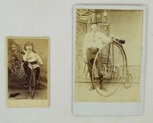 High Wheel Bicycle Photographs