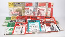 American Bicyclist Magazines Lot