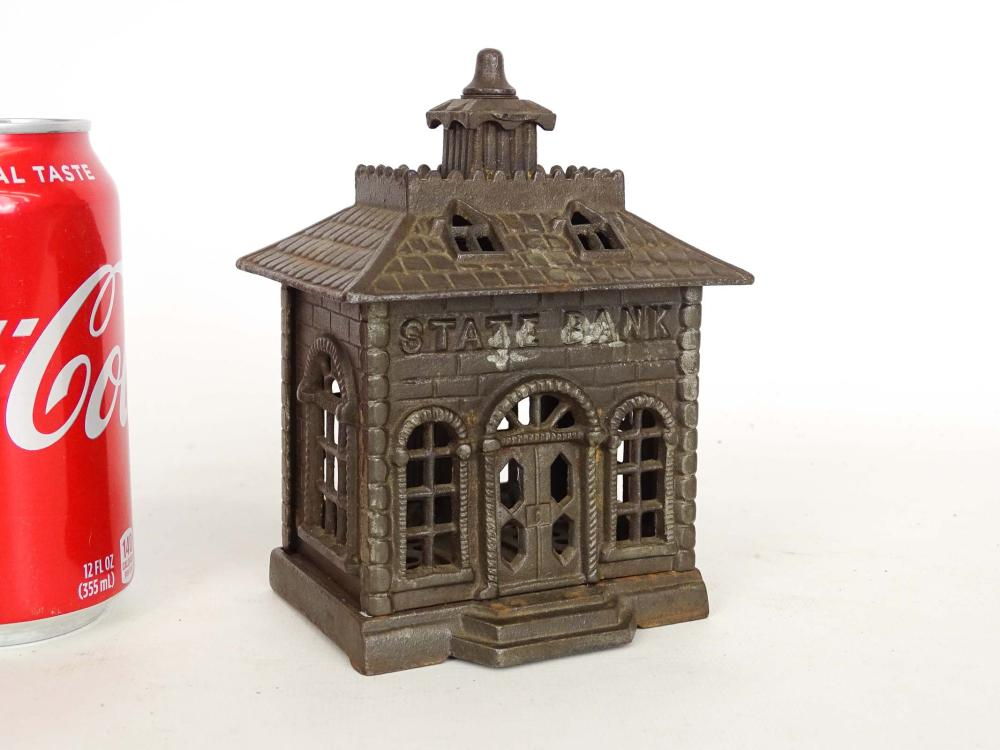 Early Cast Iron Cupola State Bank