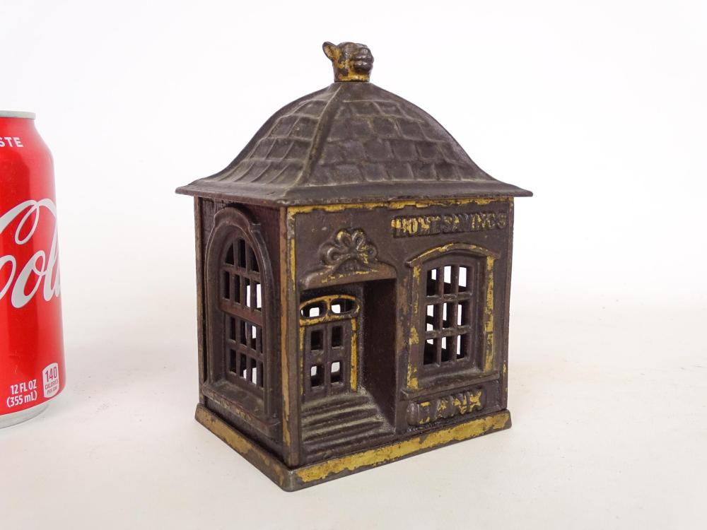 Early Cast Iron Home Savings Bank