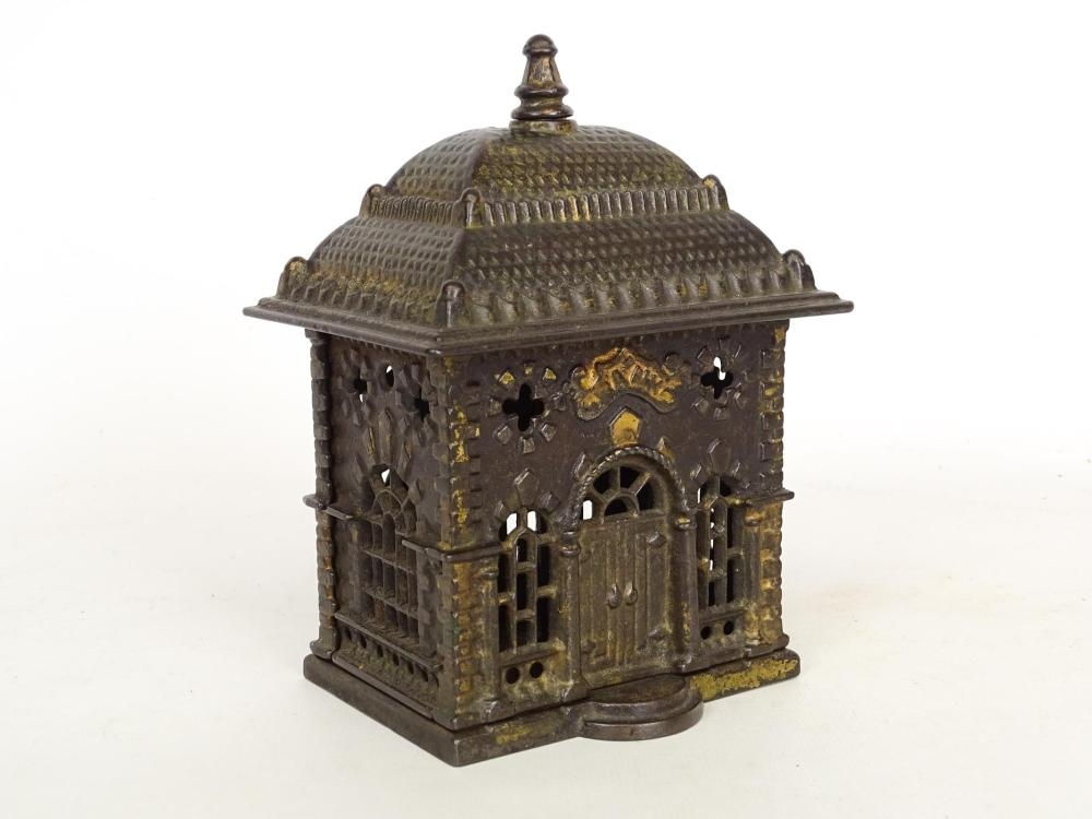 Early Cast Iron Bulding Bank