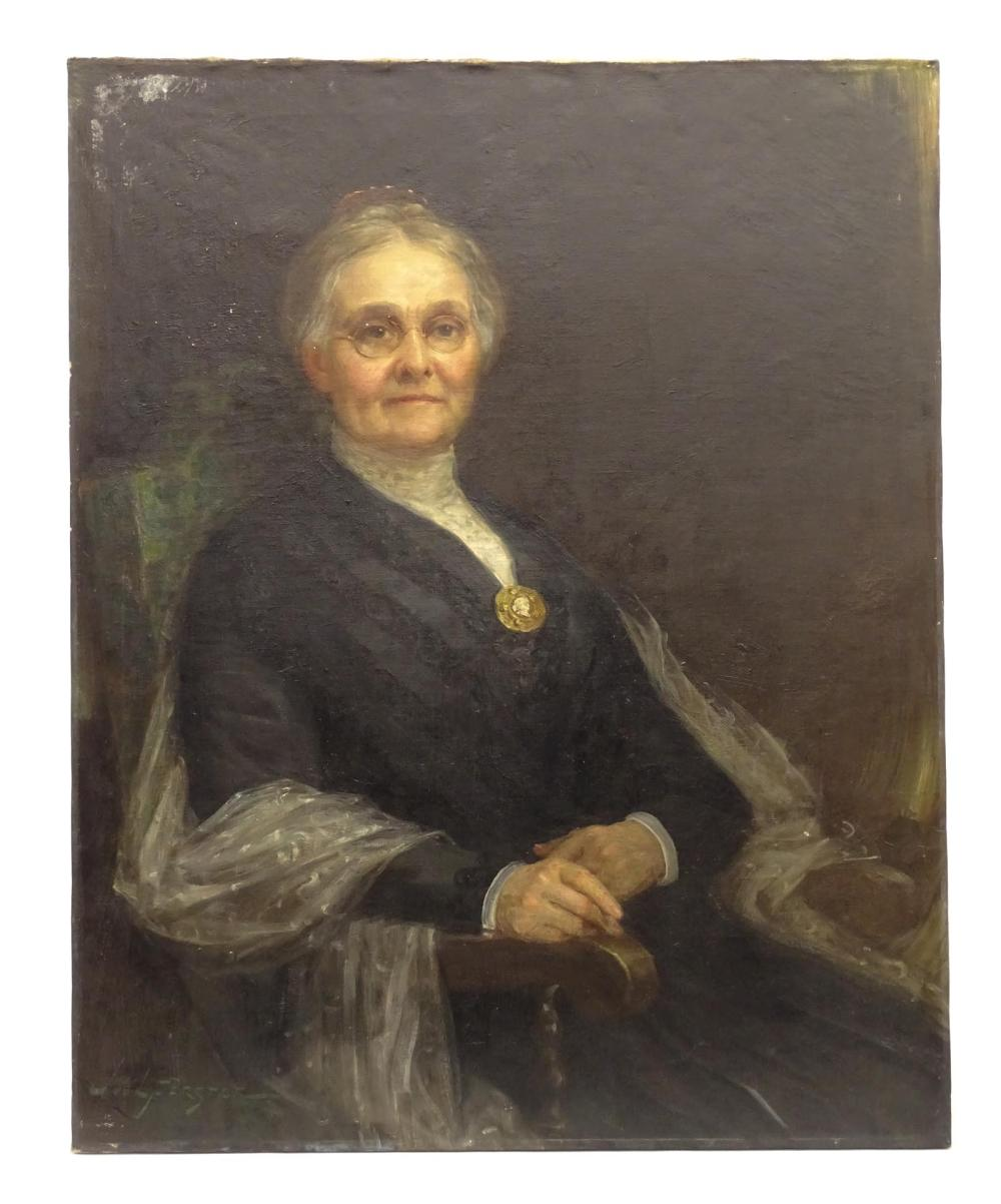 Painting, Portrait Of A Woman
