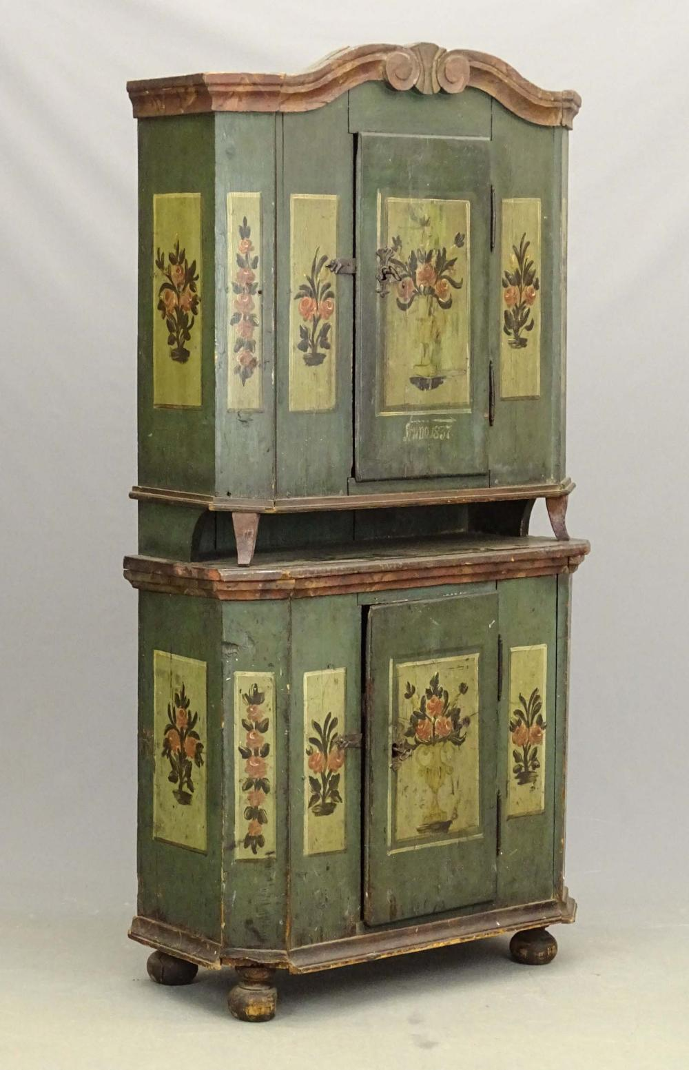 Early Continental Cupboard